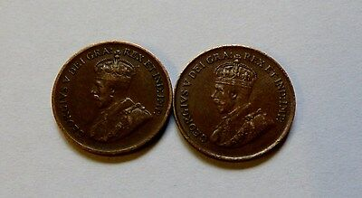 Canadian One Cent Coins ( X29 ) 1920 To 1990's