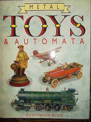 Large Hardback Book Metal Toys & Automata By Constance King.