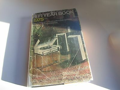 1975 Hi Fi HiFi Year Book Yearbook c/w Celestion advert on unclipped dustjacket