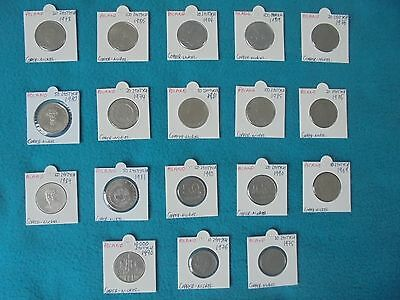 Dealers Vintage Lot Of Mixed Collectable Communist Poland Coins. All Original