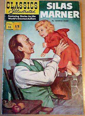 Classics Illustrated No.55 USA (HRN 167) SILAS MARNER By George Eliot