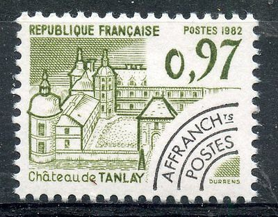 Stamp / Timbre France Neuf Preoblitere N° 174 ** Chateau De Tanlay Yonne