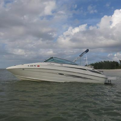 2011 Sea Ray 220 Sundeck. Kick back and enjoy the ride!