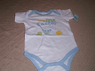New Baby Boy's Easter body suit, in 3-6 months( MY 1st Easter)
