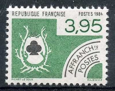 Stamp / Timbre France Neuf Preoblitere N° 185 ** Cartes A Jouer / Trefle