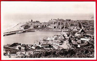 Postcard - ABERYSTWYTH from Pen Dinas - R.A. SERIES - Real Photo - Posted 1949