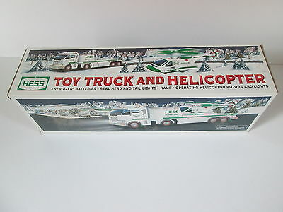 Hess 2006 Toy Truck and Helicopter NIB