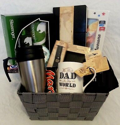 FATHERS DAY GIFT HAMPER MEN GIFTS BIRTHDAY Basket For Dad Christmas