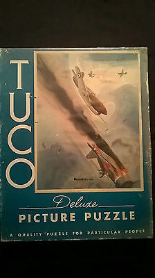 Vintage TUCO Puzzle LG14  Warhawks for Victory
