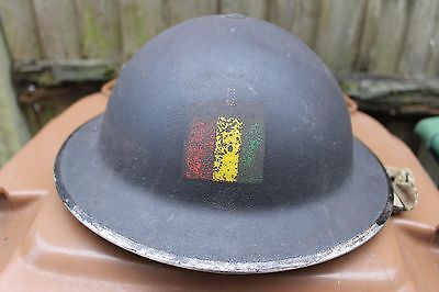 WW2 British Helmet With Painted Insignia