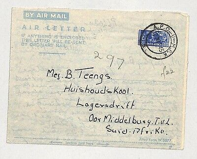 I214 1945 (WW2) South Africa, Air Mail
