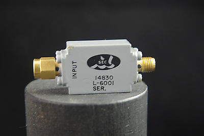 One SEC RF Microwave Filter L-6001