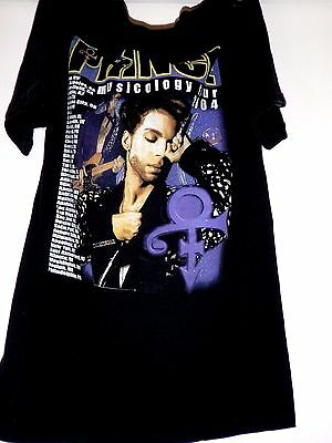 * Prince Musicology 2004 Tour T-Shirt * Size Small*