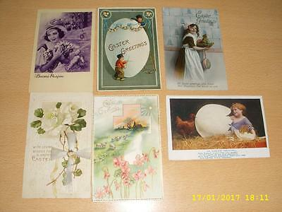 Easter  - Collection Of Vintage Greeting Postcards