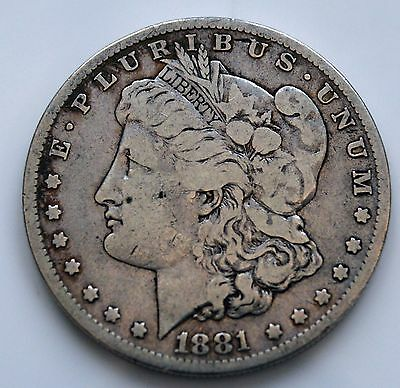 1881o Silver Morgan Dollar   (1 SN) (A)