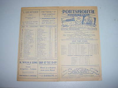 Portsmouth v Queen of the South - 5 Apr 1947