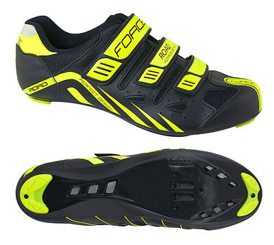 Scarpe Bici Corsa Force Road 3 Strappi