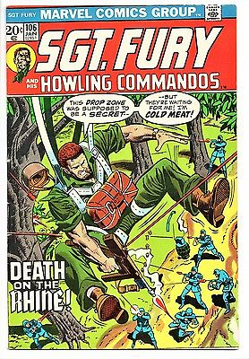 MARVEL COMIC Sgt Fury and His Howling Commandos (1963- 1981)   #106  Very Good