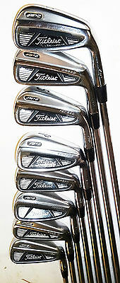Titleist Ap2 710 Irons 3-Pw Project X 6.0 Stiff Steel Shafts Good Used