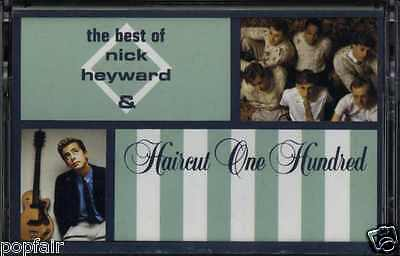 The Best Of Nick Heyward & Haircut One Hundred 1989 Uk Cassette Arista 410 366