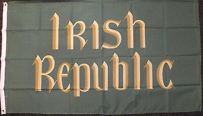 Irish Republic Flag 5x3 Republican Easter Rising Socialist Ireland Dublin 1916