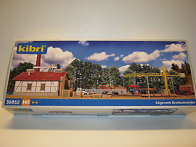 Kibri 39852-Ho Scale-Saw/timber Mill-Brand New In Box