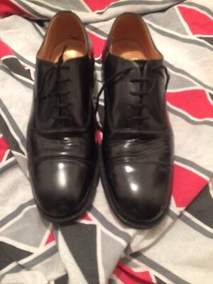 Used Church's Men's Oxfords Toe Cap Shoes Size 8.5 G