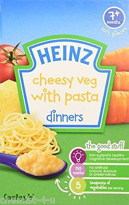 Heinz Cheesy Veg with Pasta Dinner 7+ Months Baby Food 100g