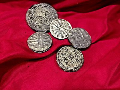 Xena AUTHENTIC SCREEN USED Lot of PROP DINARS No Chakram