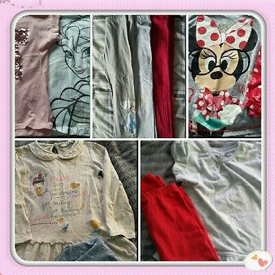 Bundle of girls clothes age 4-5yrs