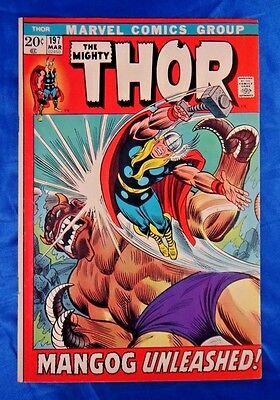 The Mighty Thor #197 Mar 1972 20c Mangog Unleashed VF+ High Grade