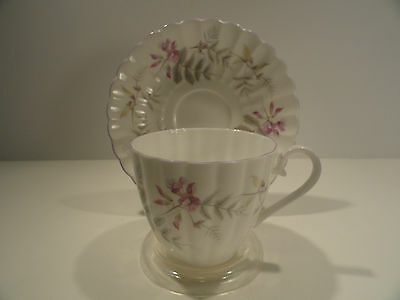 Tuscan Fine Bone China Cup and Saucer Wisteria