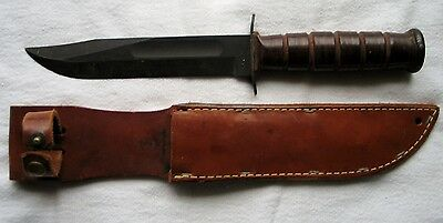 WWII USMC KABAR Made by CAMILLUS