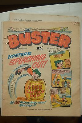 Buster comics from 1980 and 1987