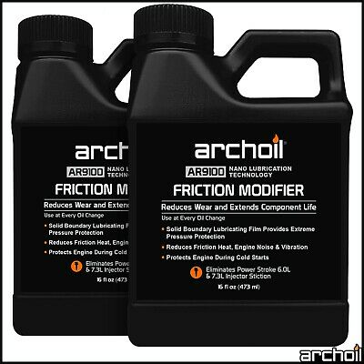 Archoil AR9100 Friction Modifier VALUE PACK - 2 x 16oz AR9100 - PowerStroke Fix