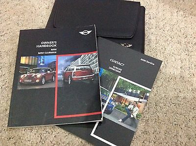 Bmw Mini And Clubman  Owners Manual Handbook  2006-2011   !!!!!