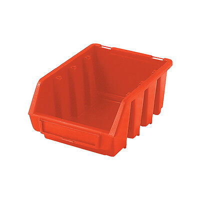 Matlock Mtl2 Hd Plastic Storage Bin Red