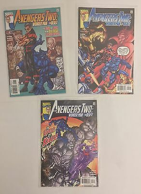 Avengers Two: Wonder Man & Beast Complete Marvel Comic Series Issues #1-3