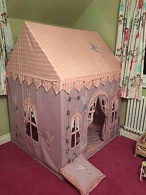 Win Green Fairy Cottage Playhouse Large With Matching Quilt And Cushion