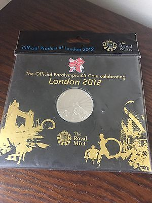 2012 Paralympic £5 coin