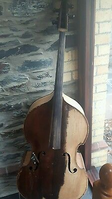 full size double bass made in 1870