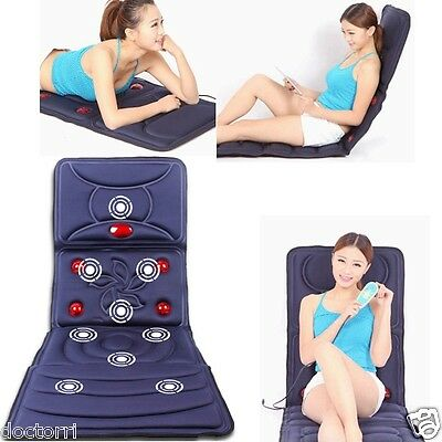 Collapsible Full-body Massage Mattress Multifunction Massager Cushion