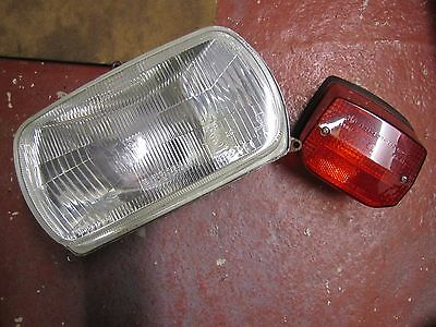 BMW R1100 GS and 850 GS Headlight and Tail Light