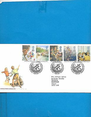 Great Britain  FDC  #  1771-75 ( Address)
