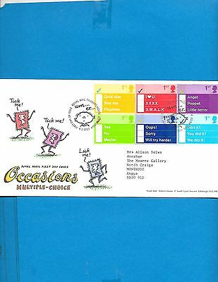 Great Britain  FDC  # 2097 A  ( Address)