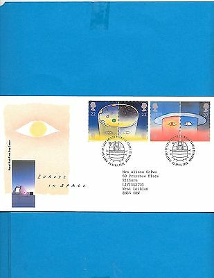 Great Britain  FDC  # 1374-76  A-A ( Address)