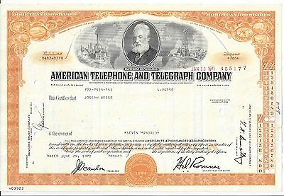American Telephone And Telegraph Company......1959 Stock Certificate