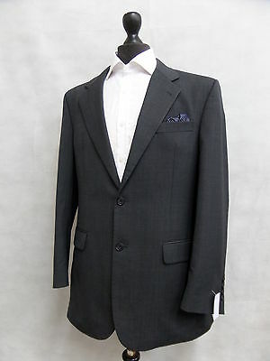 Men's Charcoal Roderick Charles Suit Jacket Blazer 40R SS7364