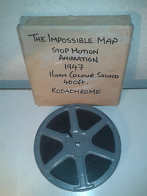 The Impossible Map 1947 - Stop Motion Animation Short - 16Mm Cine Film Movie