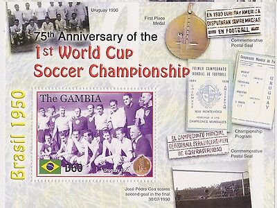 Gambia - World Cup Soccer Championship, 2005 - Sc 2939 S/S MNH